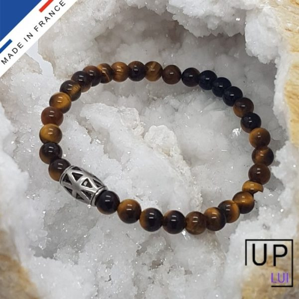 bracelet confiance oeil de tigre